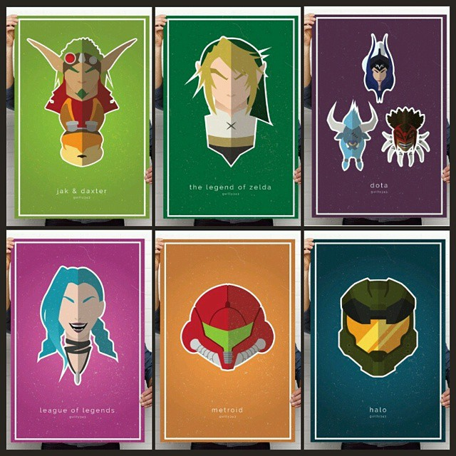 Video Game Poster – Process