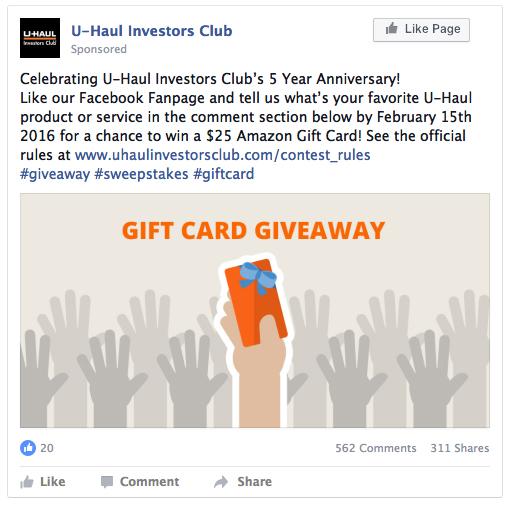 U-Haul Investors Club   Guilty343