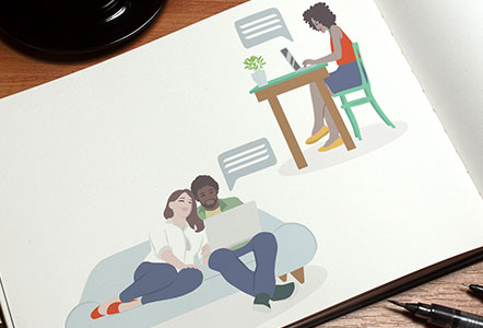 Unify Illustrations